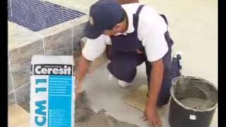 ceresit cm 11 укладка плитки видео